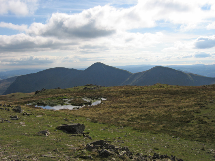 Yoke, Ill Bell and Froswick from Mardale Ill Bell's summit