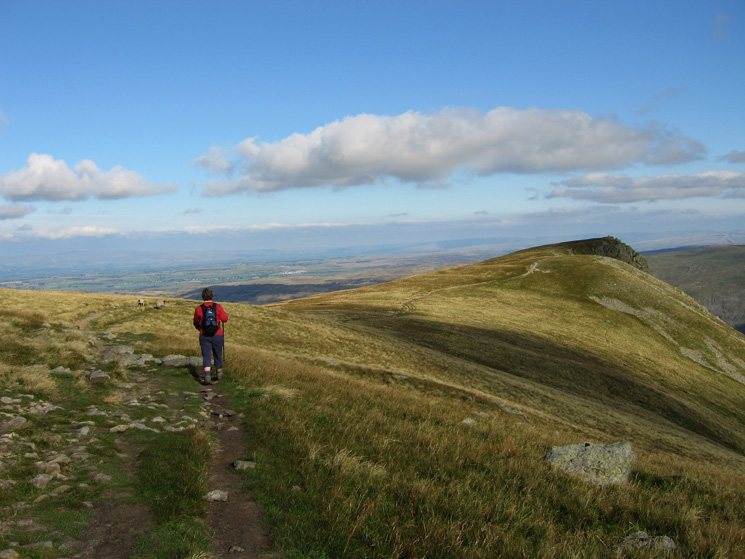 Heading for Kidsty Pike