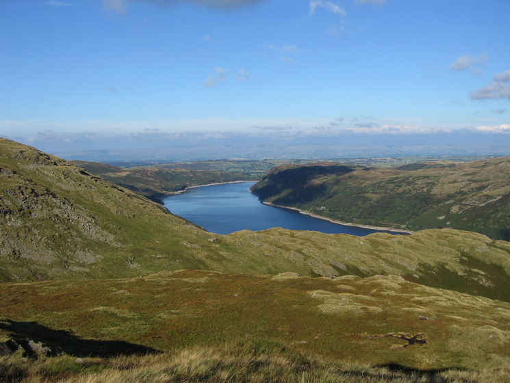 Looking north east down Haweswater from below Kidsty Howes