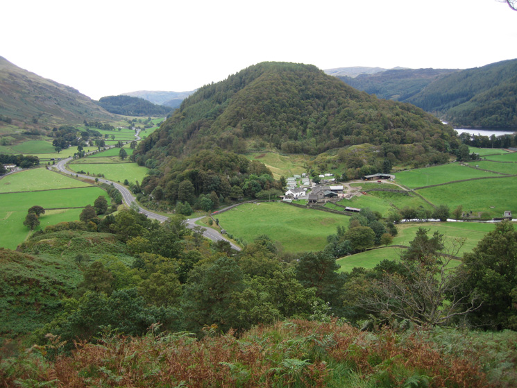 Great How from the southern end of High Rigg