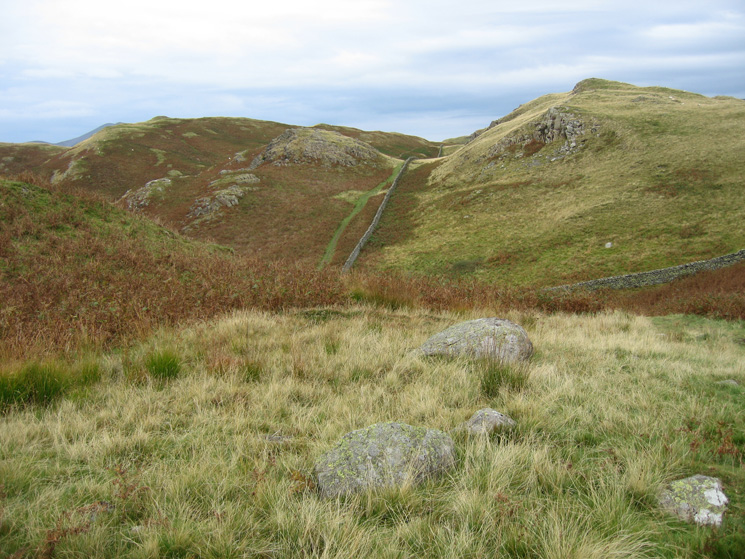 On High Rigg looking north