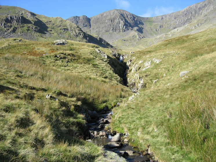 Ruthwaite Cove and High Crag ahead
