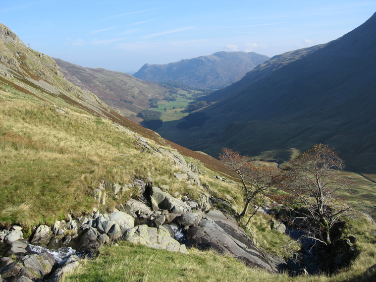 Looking down into Grisedale and towards Place Fell