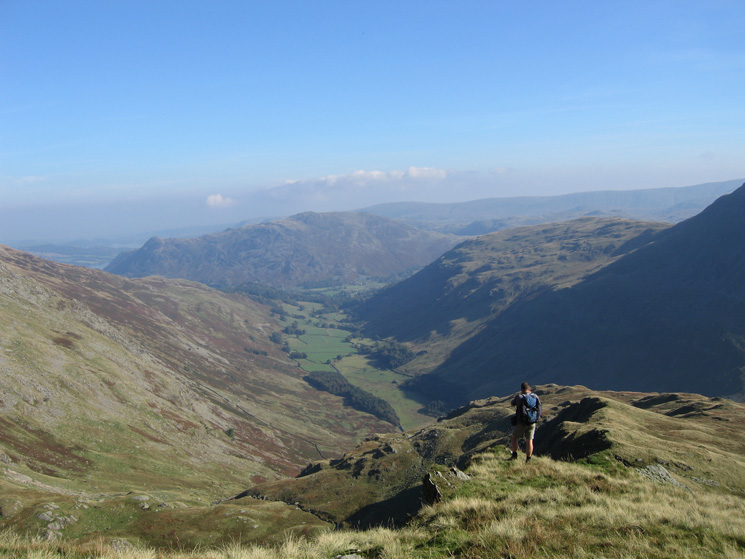 Grisedale from Nethermost Pike's east ridge