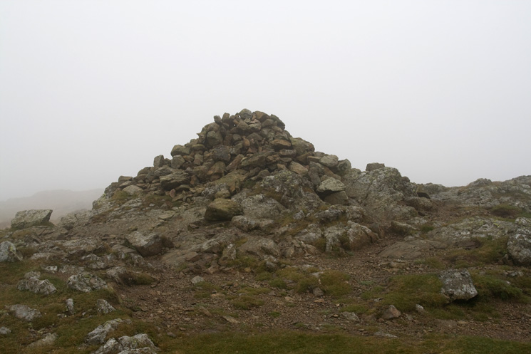 Stony Cove Pike's summit cairn