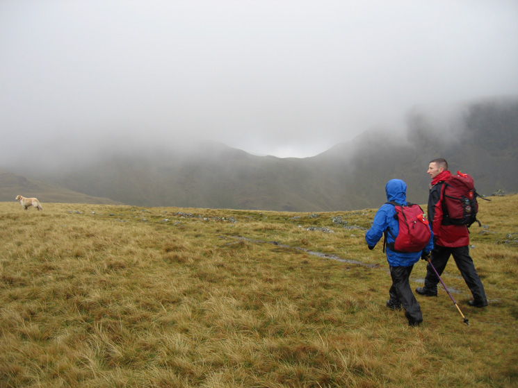 On Moses' Trod with Beck Head just below the cloud
