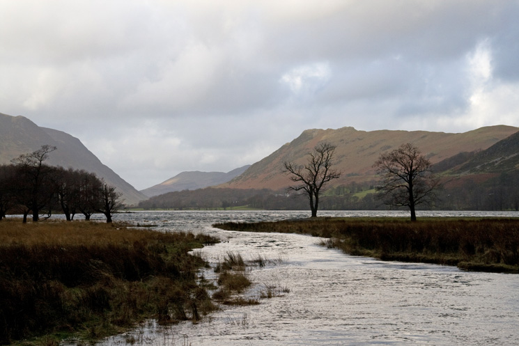 Buttermere and Rannerdale Knotts from Peggy's Bridge