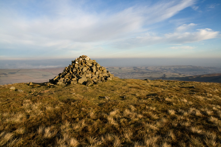Brae Fell's summit cairn