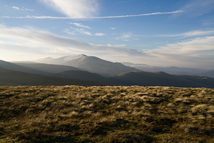Skiddaw from Brae Fell's summit