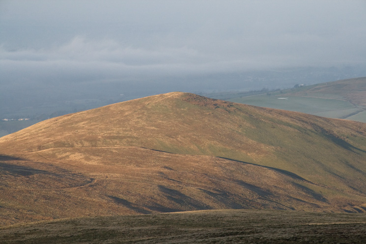 Longlands Fell from Little Sca Fell