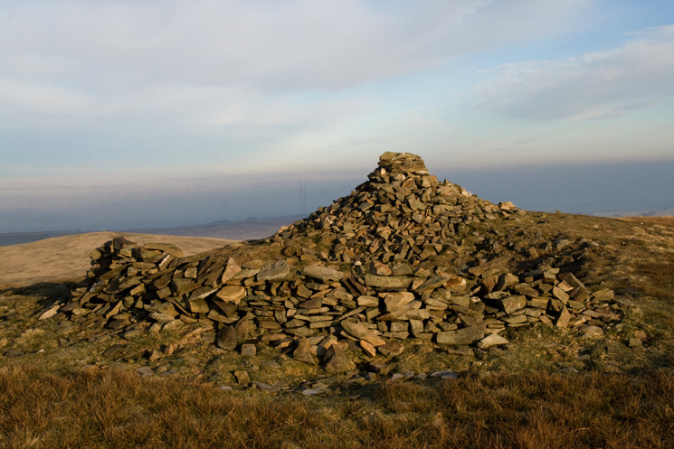 Little Sca Fell's summit cairn