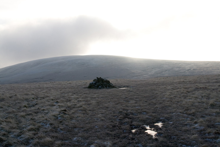 Knott from Great Sca Fell's summit