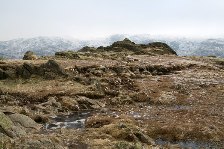 Calf Crag's summit