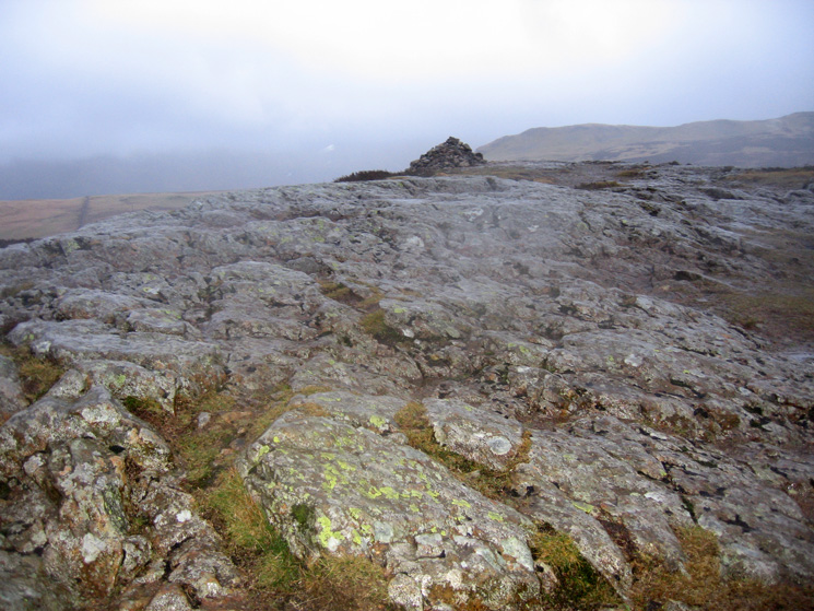 Walla Crag's summit