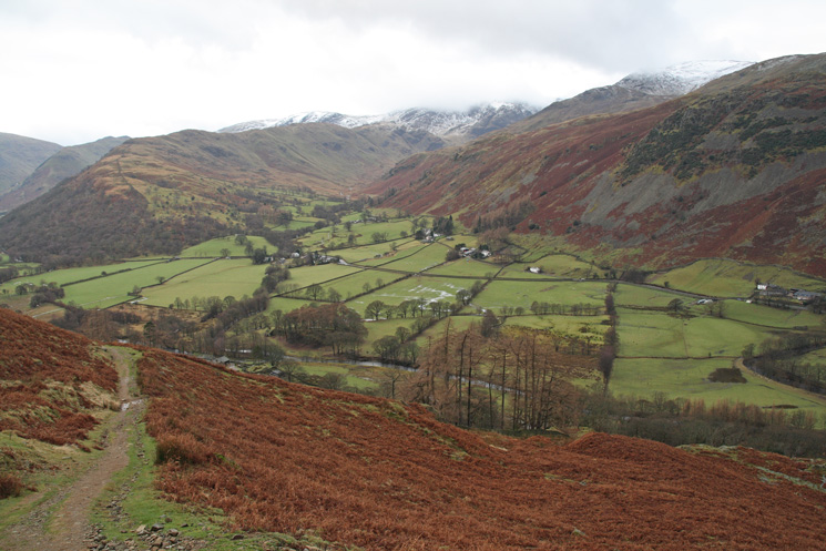 Another shot of Deepdale from the Boredale Hause path