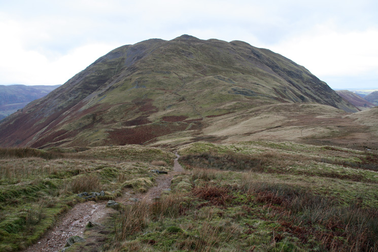 Place Fell from the path to Angletarn Pikes from Boredale Hause