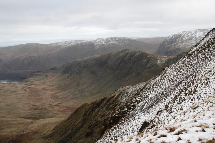 Riggindale and Rough Crag