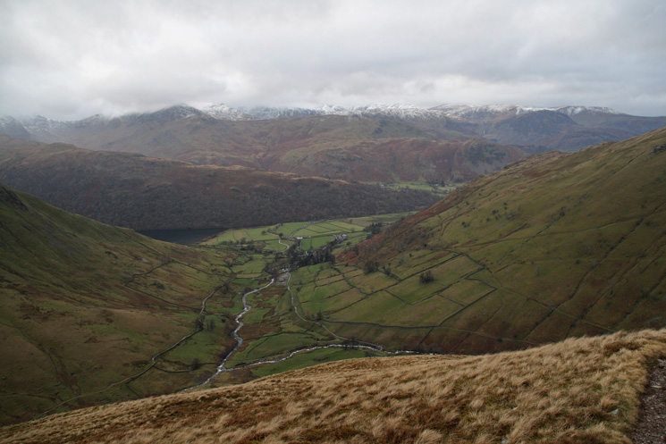 The view west from Gray Crag