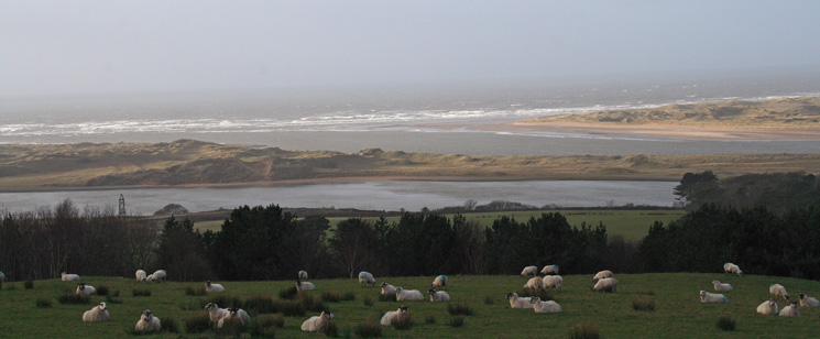 The mouth of the River Esk