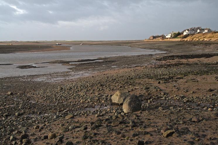 The River Esk at Ravenglass