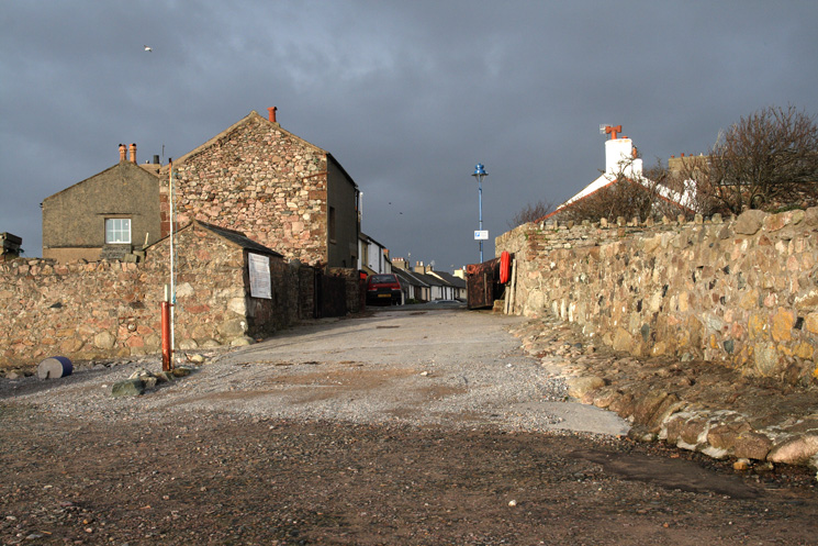 The entrance to Ravenglass from the beach