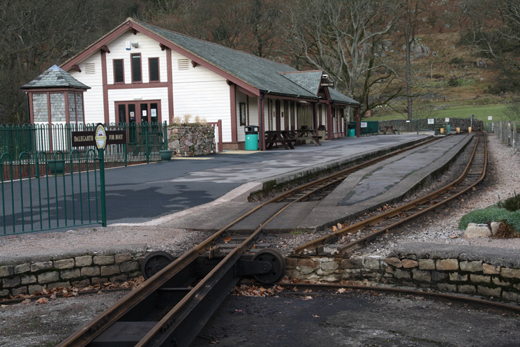 Dalegarth Station at Boot, Eskdale - no trains today