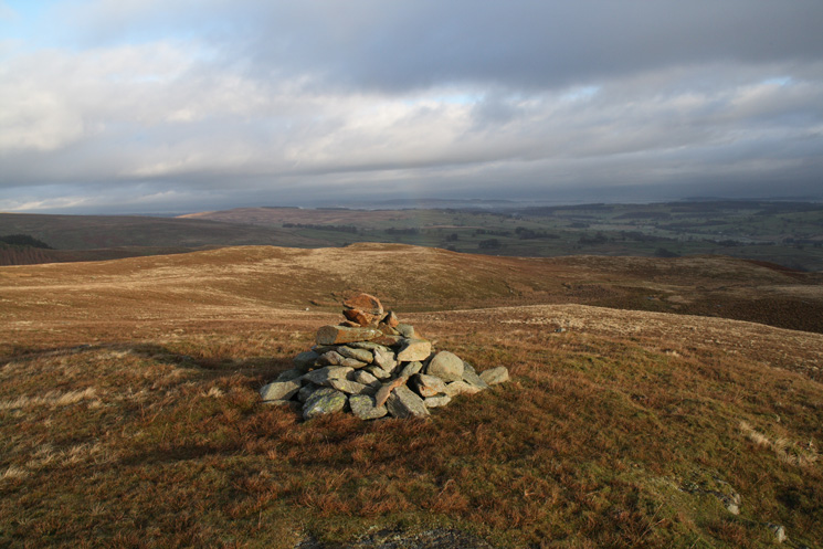 The view north from the summit of Bampton Fell (not named on the OS map)