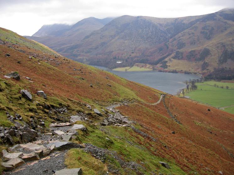 The Grasmoor fells and High Snockrigg