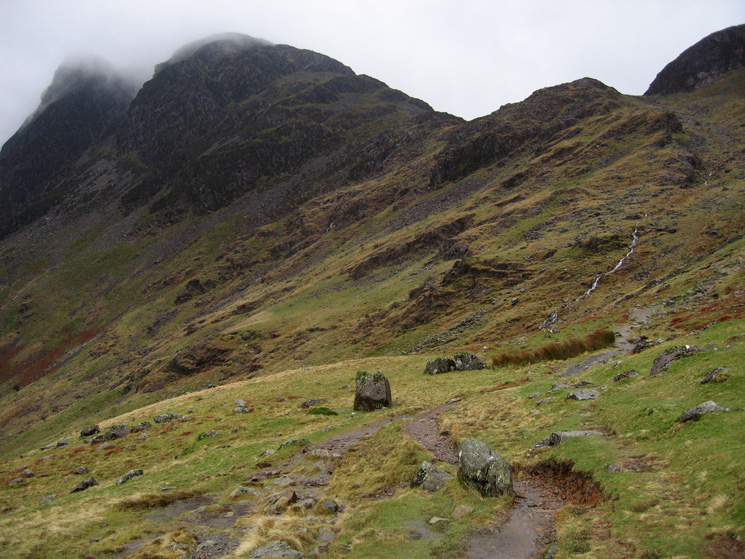 Haystacks from the path to Scarth Gap