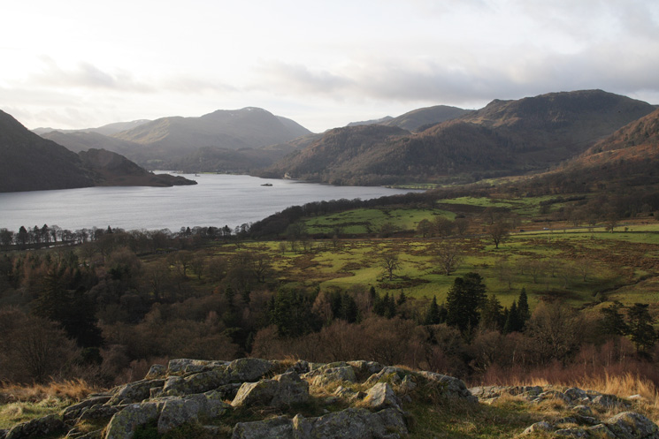 Ullswater from the path up Green Hill