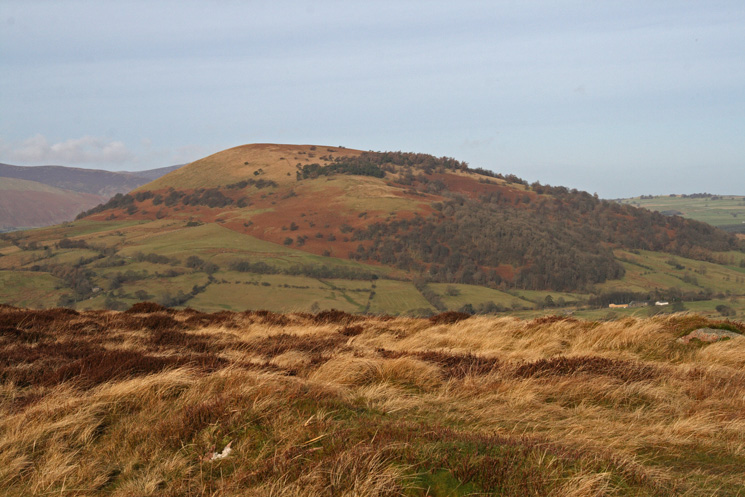 Great Mell Fell from Great Meldrum's summit
