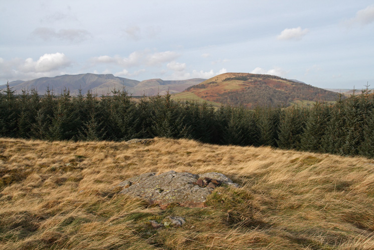 ...and Blencathra and Great Mell Fell