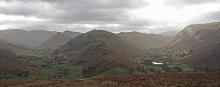 Howe Grain, Beda Fell and Boredale from Hallin Fell