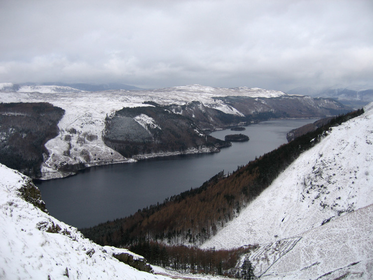 Thirlmere from above Comb Gill