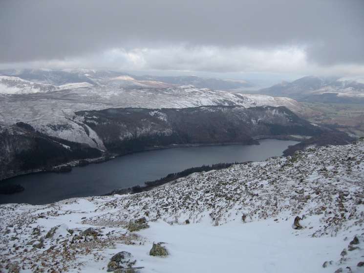 Thirlmere from the Swirls path