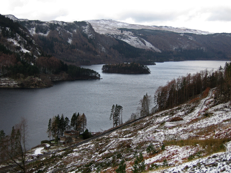 You can see much more of Thirlmere after the recent felling