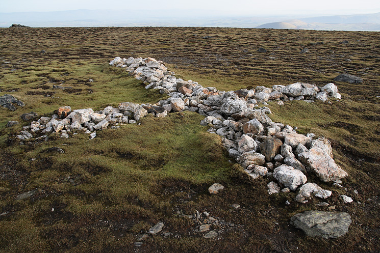 The largest of the crosses between Atkinson Pike and Hallsfell Top (Blecathra's summit)