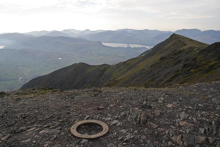 Gategill Fell from Blencathra's summit