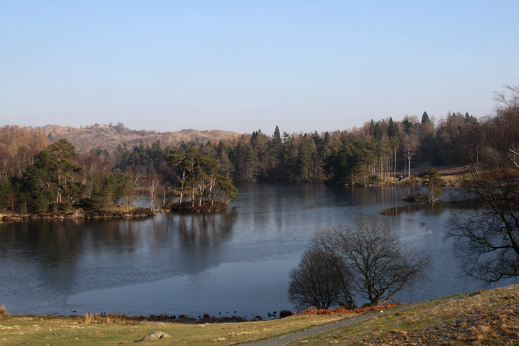 A final shot of Tarn Hows as we head back to the car park