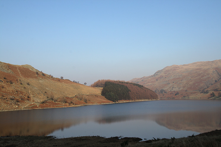 Looking across Haweswater to The Rigg from Mardale Head