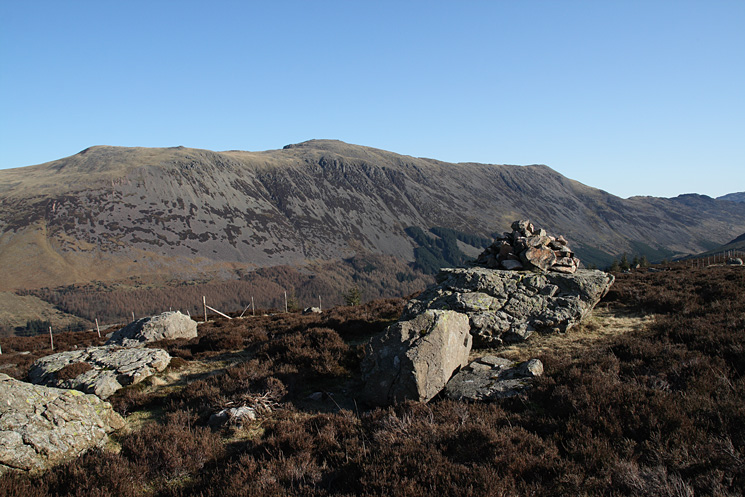Red Pike, High Stile and High Crag with Haystacks on the far right from Lingmell