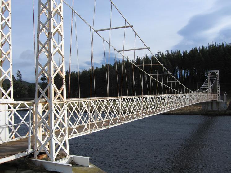 Polhollick Bridge, erected in 1892