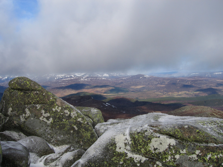 North from Cac Carn Beag