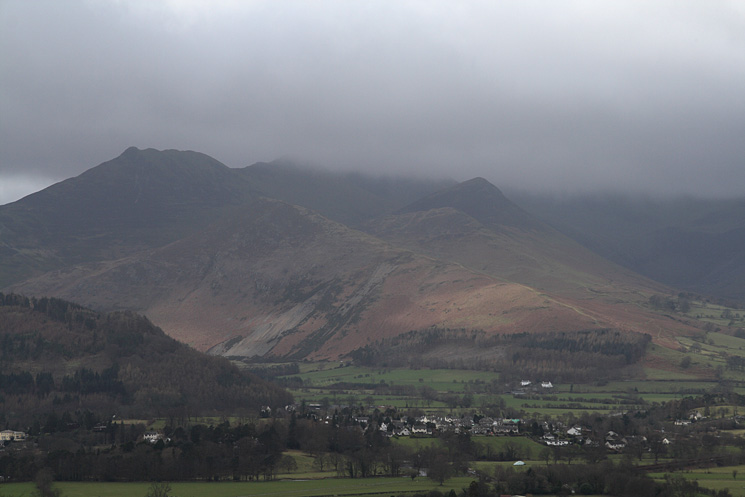 Causey Pike, Barrow and Outerside
