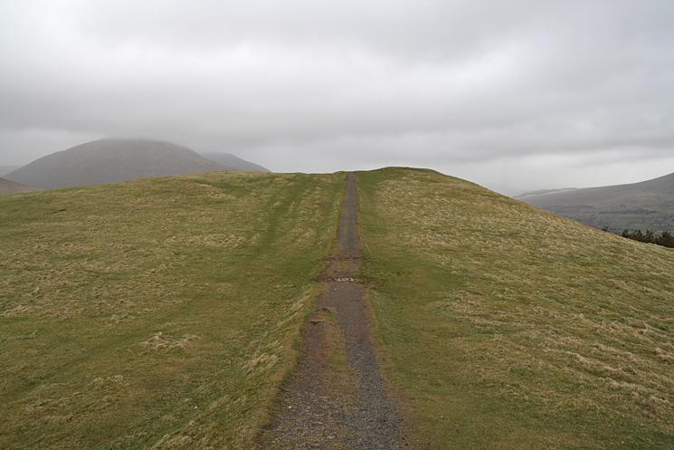 Latrigg's summit