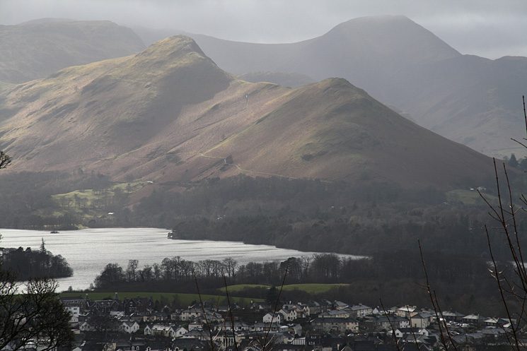 Zooming in on Catbells