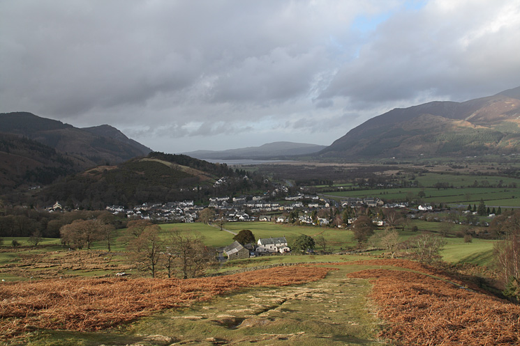 Braithwaite from Barrow's north ridge