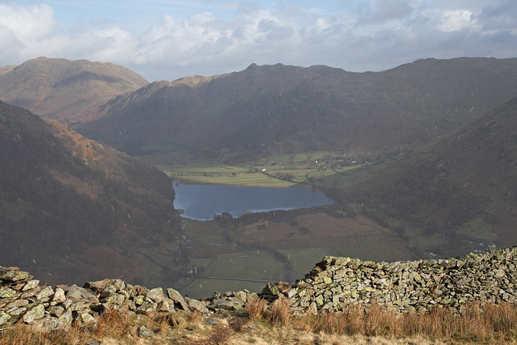Place Fell, Angletarn Pikes and Brothers Water from High Hartsop Dodd