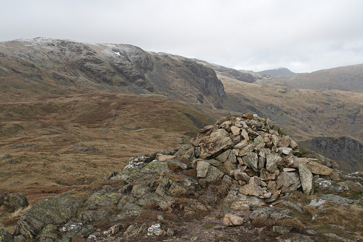 Dove Crag from Little Hart Crag's summit cairn