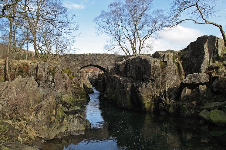 Birks Bridge over the River Duddon